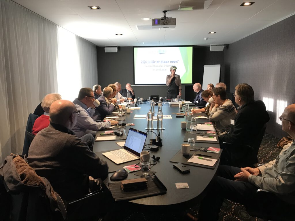 welkomswoord voorzitter Helga Witjes netwerkbijeenkomst oo-model omgevingswet ontwikkelingen